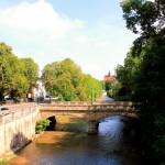 Brücke über die Chemnitz an der Markthalle