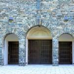 Portal der Ev. Kreuzkirche