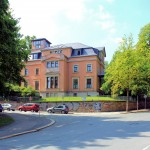 Villa an der Kreuzung Kaßbergstraße/Hohe Straße