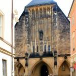 Die Jugendstilfassade der Jakobikirche