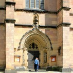 Westportal der Schlosskirche