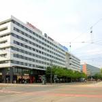 Große Verwaltungsbauten bestimmten die Wiederaufbauphase in Chemnitz seit den 1960er Jahren