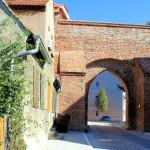 Burgtor der Ilburg in Eilenburg