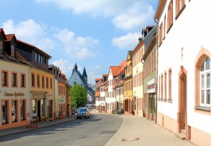 In der Altstadt von Geithain