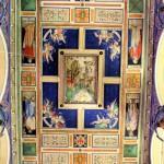 Deckenbemalung der Nicolaikirche
