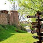 Die Stadtmauer an der Altenburger Straße