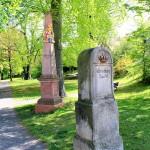 Postmeilensäule im Stadtpark