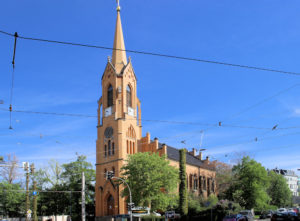 Die Ev. Friedenskirche in Gohlis
