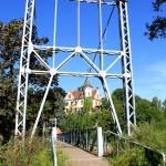 """Grimma, Hängebrücke und """"Gattersburg"""""""