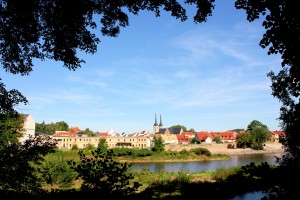 Grimma an der Mulde, Blick auf die Altstadt