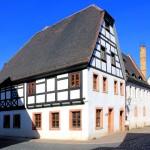Grimma, Fachwerkhaus in der Weberstraße