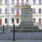 Brückensprengungsdenkmal am Elstermühlgraben in Leipzig