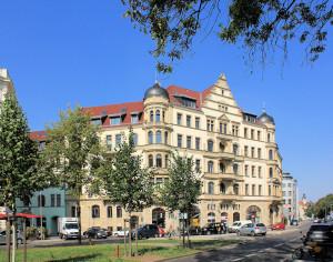 Wohnhaus an der Dufourstraße