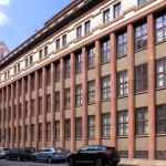 Grassi-Textilmessehaus in der Härtelstraße