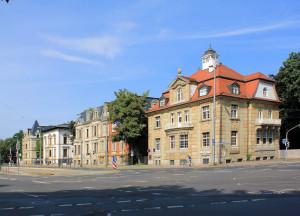 Villen an der Karl-Tauchnitz-Straße