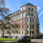 Simsonstraße im Musikviertel Leipzig
