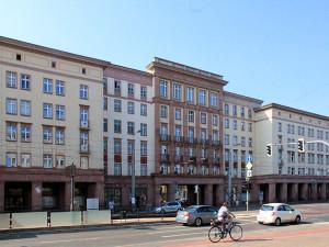 Wohnbebauung aus den 1950er Jahren an der Windmühlenstraße