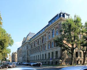 Die Hochschule für Grafik und Buckunst (heute HTWK)