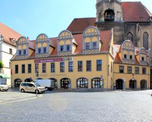 Das Schlösschen am Markt, Residenz des Herzogs Moritz
