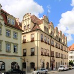 Das Rathaus am Naumburger Markt