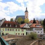 Stadtkirche und Altstadt von Penig