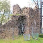 Eckturm der Stadtbefestigung auf dem Friedhof von Penig