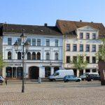 Marktplatzbebauung Rochlitz, Südseite Obermarkt