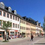Marktplatzbebauung Rochlitz, Nordseite Obermarkt