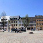 Marktplatzbebauung Rochlitz, Westseite Obermarkt