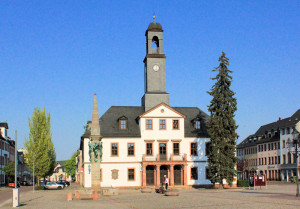 Rathaus von Rochlitz