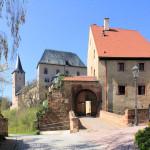 Zugang zum Unterschloss Rochlitz
