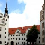 Schloss Hartenfels, Schlosshof