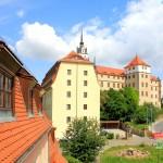 Schloss Hartenfels und Elbmagazin