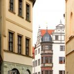 Altstadt mit Blick zum Rathaus