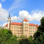 Schloss Hartenfels, Johann-Friedrich-Bau, Stadtseite