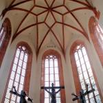 Dom, Ostchor mit Figurengruppe von Georg Wrba