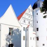 Südgiebel des Schlosses