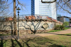 Moritzbastei Leipzig, Feldseite