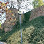 nördliche Stadtmauer Geithain mit Turm