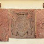 Wappentafel am Stadtschreiberhaus Grimma