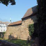Stadtbefestigung Oschatz, Stadtmauer Freiherr-vom-Stein-Promenade
