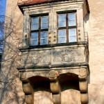 Schloss Strehla, Erker