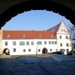 Schloss Strehla, erster Hof