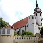 Torgau, Marienkirche und Stadtbefestigung