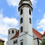 Torgau, Marienkirche, Westturmfront