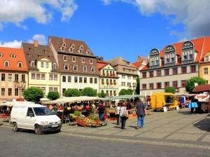 Marktplatz in Naumburg
