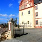Schloss Trebsen, Giebel