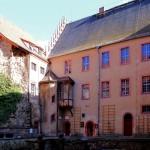 Schloss Trebsen, Schlosshof, Ostflügel
