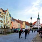 Marktplatz von Elbogen (Loket)
