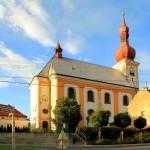 Kirche in Skalná